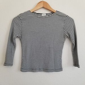 Brandy Melville Striped Stretch Top One Size